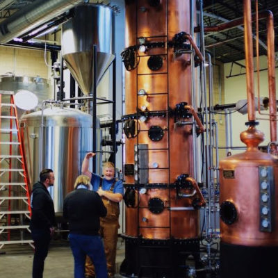 hybrid still that functions as both a continuous and a batch system