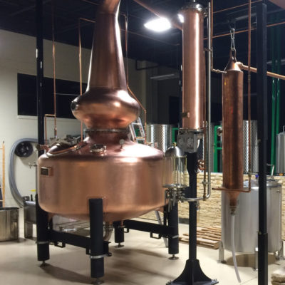 Restless Spirits Distilling Co - 500 Gallon Wash Still - N. Kansas City, MO