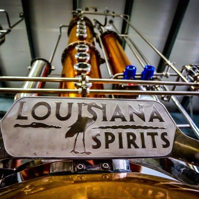 Louisiana Spirits - 500 Gallon Copper Batch Still System - Lacassine, LA