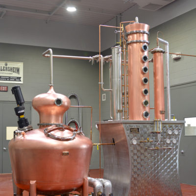 Wollersheim Winery - 250 Gallon Copper Batch Still System - Prairie Du Sac, WI