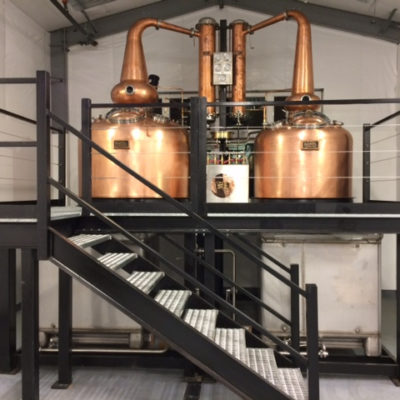 Red Hills Distillery - 500 Gallon and 250 Gallon Copper Wash Stills - Dayton, OR
