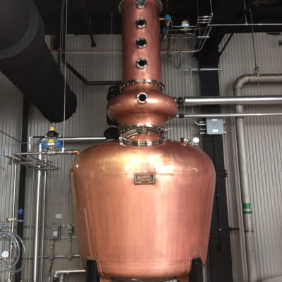 Hiram Walker & Sons - 750 Gallon Copper Pot Still - Windsor, Ontario, Canada