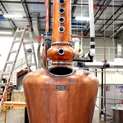 Ghost Coast Distillery - 500 Gallon Copper Batch Still System - Savannah, GA