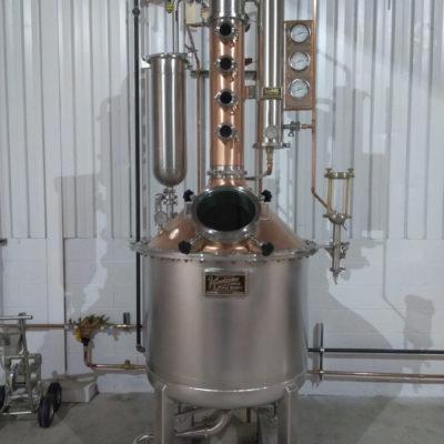 Corgi Distillery 100 gal SS/CU Batch System w/Gin Basket
