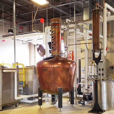 KO Distilling - 500 Gallon Copper Batch System - Manassas, VA