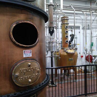 Stitzel Weller 125 Gallon Copper Batch Still System