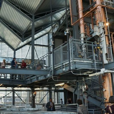"Rabbit Hole Distilling - 24"" Continuous Distillation System - Louisville, KY (photo by Distillery Trail)"