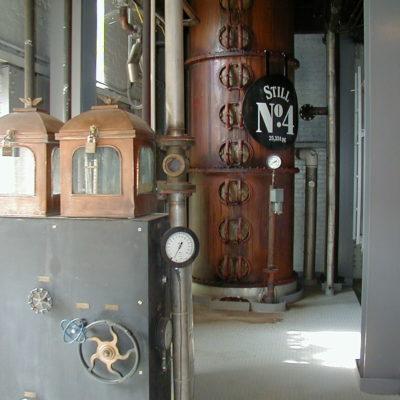 "Jack Daniel's - 54""-76"" Copper Beer Still - Lynchburg, TN"