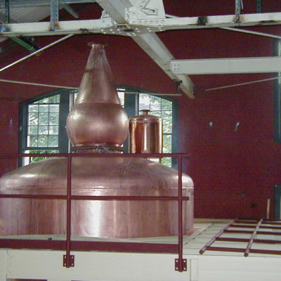 Four Roses Distillery - 10' Copper Whiskey Doubler for Beer Still - Lawrenceburg, KY