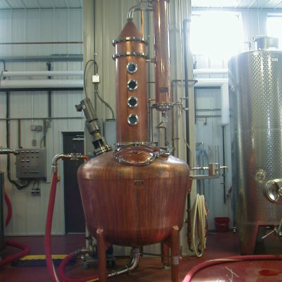 Smooth Amber Spirits Co. - 320 Gallon Copper Batch Still System - Maxwelton, WV