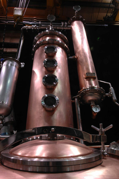 Sons of Liberty Spirits Company -  250 Gallon Copper Batch System - South Kingstown, RI