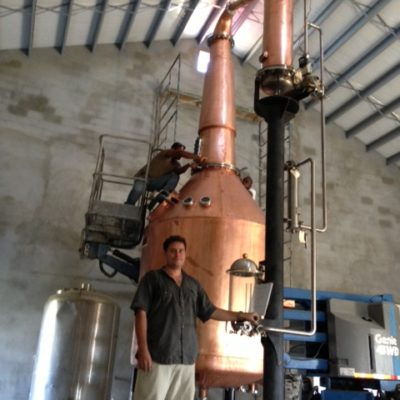Cayman Spirits Co. - 1200 Gallon Copper Batch Still System - Grand Cayman, Cayman Islands