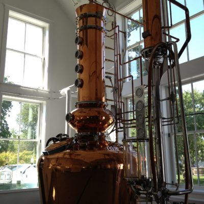 Truro Vineyards - 250 Gallon Copper Batch Still System - North Truro, MA