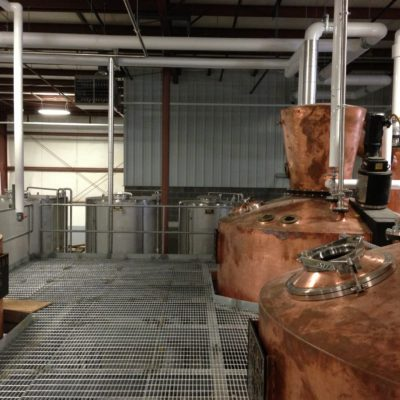 J&M Concepts (Popcorn Sutton) - Twin 2500 Gallon Copper Pot Stills and (1) 1500 Gallon Copper Pot Still