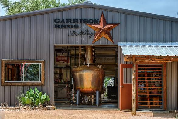 Garrison Brothers Distillery - 500 Gallon Pot Still System - Hye, TX