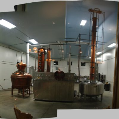CELK Distilling - 250 Gallon Copper Batch Still System and a 100 Gallon Copper/Stainless Vodka System - Williamson, NY
