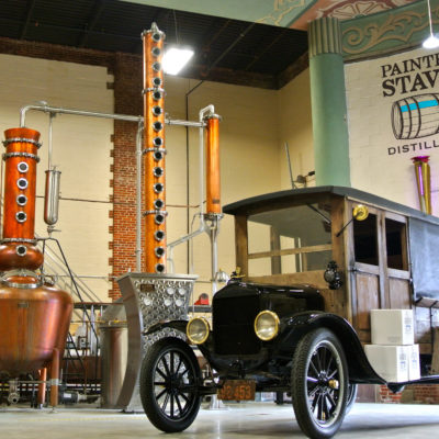 "Legacy Distilling - 250 Gallon Copper Batch Still System and 11-1/2"" Reaction Column - Smyrna, DE"