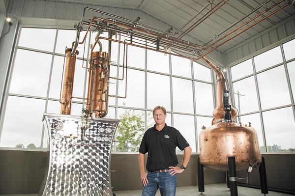 Huber's Starlight Distillery - 350 Gallon Copper Batch Still System - Starlight, IN