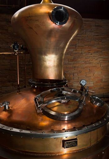 Wilderness Trail Distillery - 175 Gallon Copper and Stainless Steel Pot Still System - Danville, KY