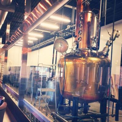 Dark Horse Distillery - 500 Gallon Copper Batch Still System - Lenexa, KS