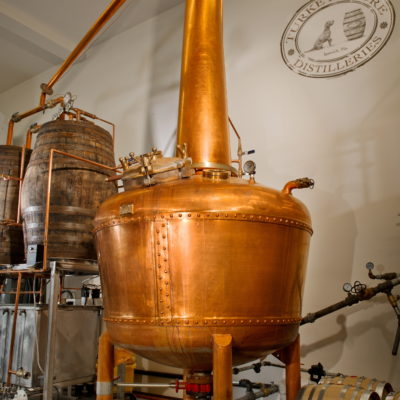 Turkey Shore Distilleries - 250 Gallon Copper Batch Still Rum Design - Ipswich, PA