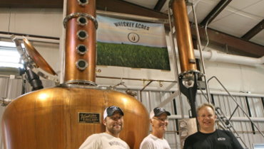 Illinois's first farm distillery