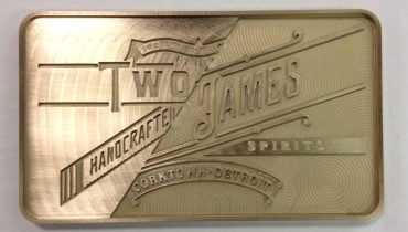 TWO JAMES CATCHER'S RYE WHISKEY A TRUE MICHIGAN ORIGINAL