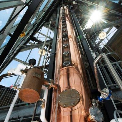 "New Riff Distilling - 24"" Copper Continuous Column - Newport, KY"