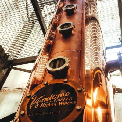 "McCormick Distilling Co. - 18"" Diameter Copper Continuous Still System - Weston, MO"