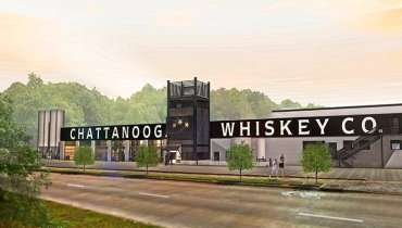 Chattanooga Whiskey's expansion has begun off of the Tennessee River