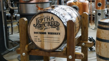 Family Run Startup Jeptha Creed Distillery Fills 1st Barrel of Bourbon