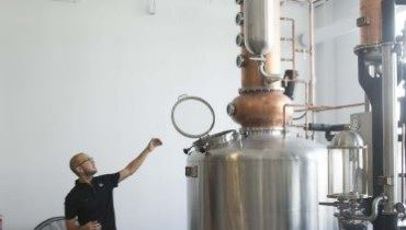 Manifest Distilling prepares opening in Downtown's sports district