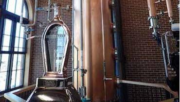 A Sneak Peek of Angel's Envy's Brand New Distillery in Louisville