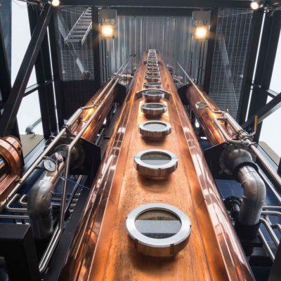 "Ballast Point (Cutwater Distilling) - 24"" Copper Beer Still - San Diego, CA"