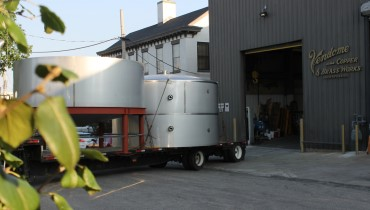 There's a steady stream of fermenters heading to Owensboro's OZ Tyler Distillery this month