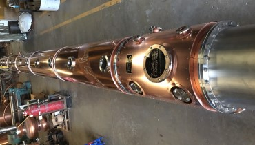 The 4,700 Lb. Heart of the New Old Forester Distillery is in the House
