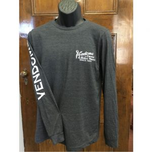 Vendome Long Sleeve Dark Gray Shirt