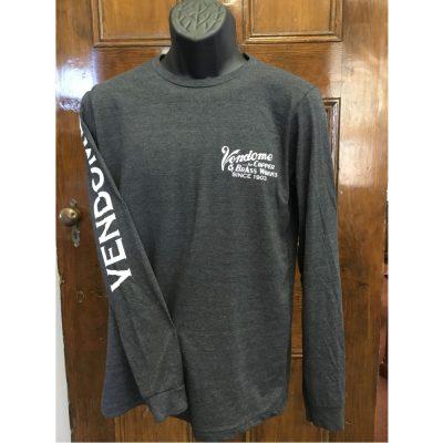 Vendome Long Sleeve Dark Gray Shirt