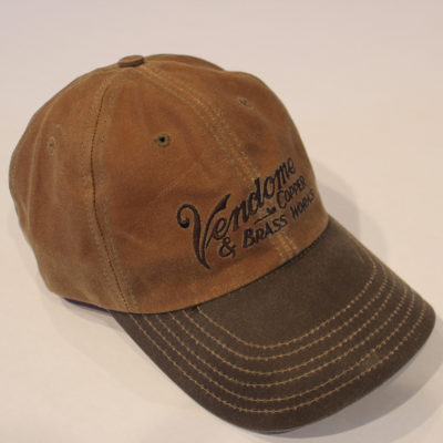 Vendome Tan Wax Hat