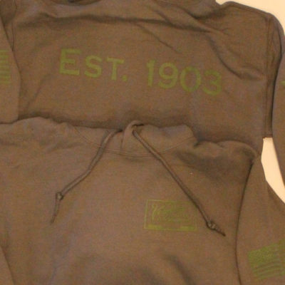 Vendome Sweatshirt – Gray/Green